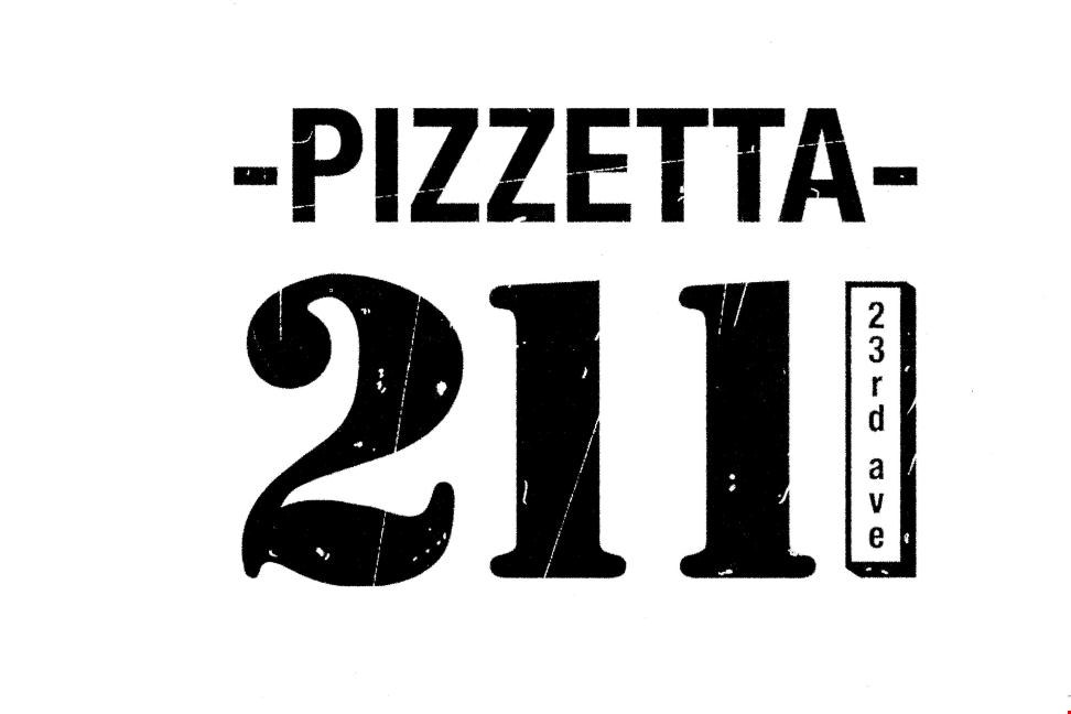 Pizzetta 211 - Homepage